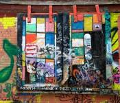 Jarring vision along McDougall Lane, Toronto 2011-05-26