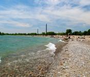 Westward view of Woodbine Beach, Toronto 2011-06-19