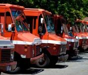 Silverstein's trucks parked off Baldwin Street, Toronto 2011-06-06