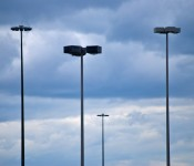 Street lights at Sherway Gardens, Toronto 2