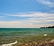 Pebbly portion of Kew Beach, Toronto 2011-06-19