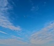 Sky viewed from Polson Pier, Toronto 2011-04-25