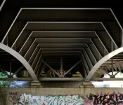 Overpass by the Don River, Toronto 2010-07-30