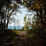 Walking in Tommy Thompson Park, Toronto 2011-10-08