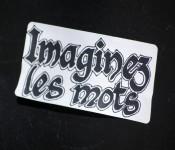 Sticker street art on boulevard Saint-Laurent, Montréal 2012-02-19