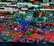 Scrambled image on the TV 2012-03-14