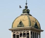Cupola of the Mercado Central de Santiago, Chile 2010-12-14