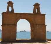 Arch in Valparaíso, Chile 2010-12-19