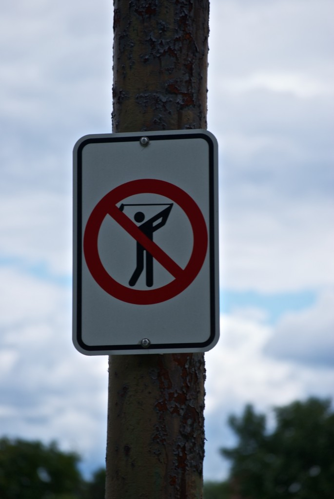 A necessary sign in Dorval 2012-07-19