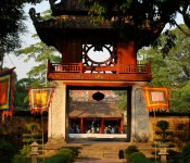 Constellation of Literature Pavilion at the Temple of Literature, Hanoi, Vietnam