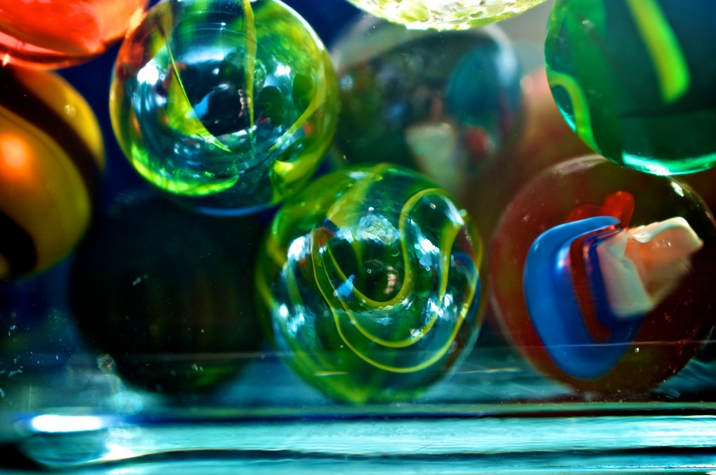 I had to buy that bag of marbles. Dorval 2012-08-17