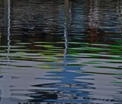 Reflections on the water, Toronto 2011-09-24