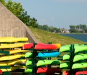 Canoe and kayak club in Pointe-Claire