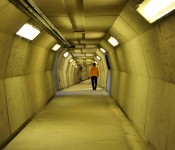 Underground tunnel, Valois Train Station, Dorval 2012-10-26