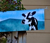 Mailbox cow in Dorval 2012-11-16