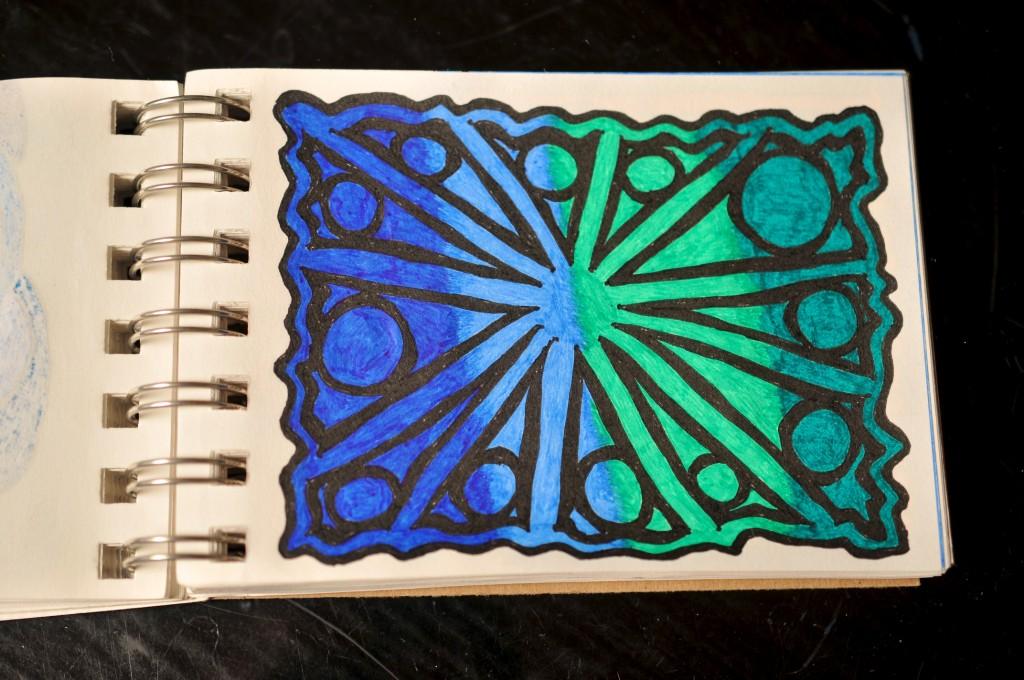 Sketchbook doodle 35 of 95