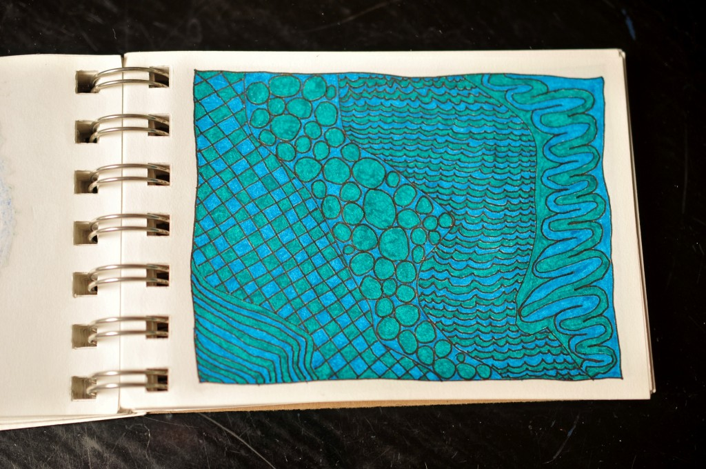 Sketchbook doodle 37 of 95