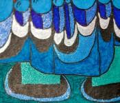 Close-up of sketchbook doodle 20 of 95