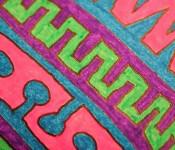 Close-up of sketchbook doodle 28 of 95