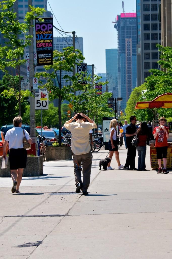 Everybody deserves respect. [University Avenue, Toronto]