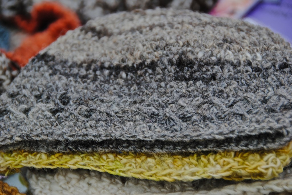 Do you love hats too? Look at this stack of hats [Santiago, Chile 2012-12-01]