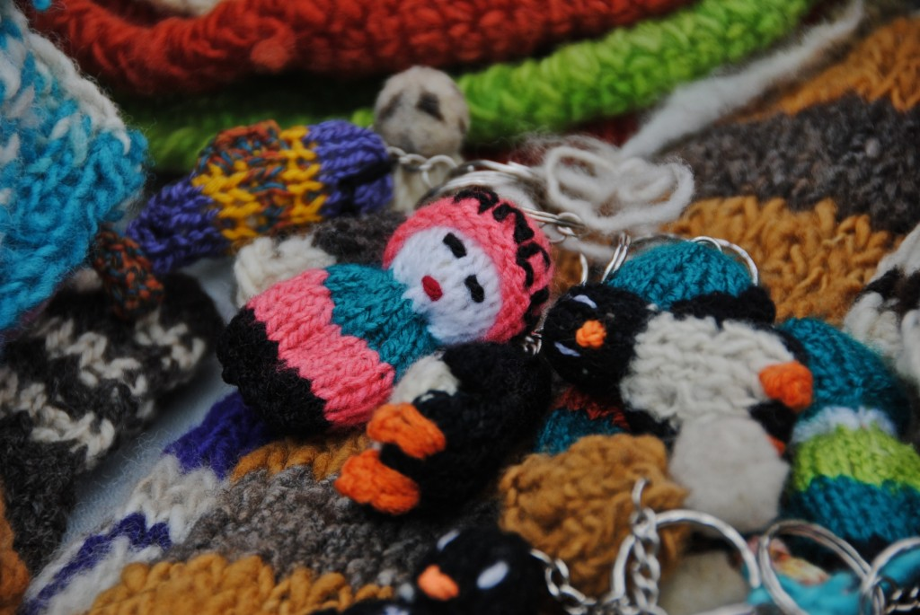 Even keychain dolls look good in hats [Santiago, Chile 2012-12-01]