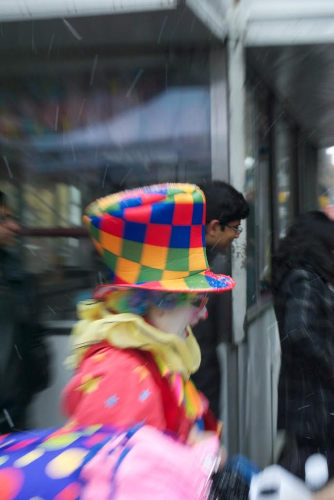Clowning around [Toronto 2011-02-26]