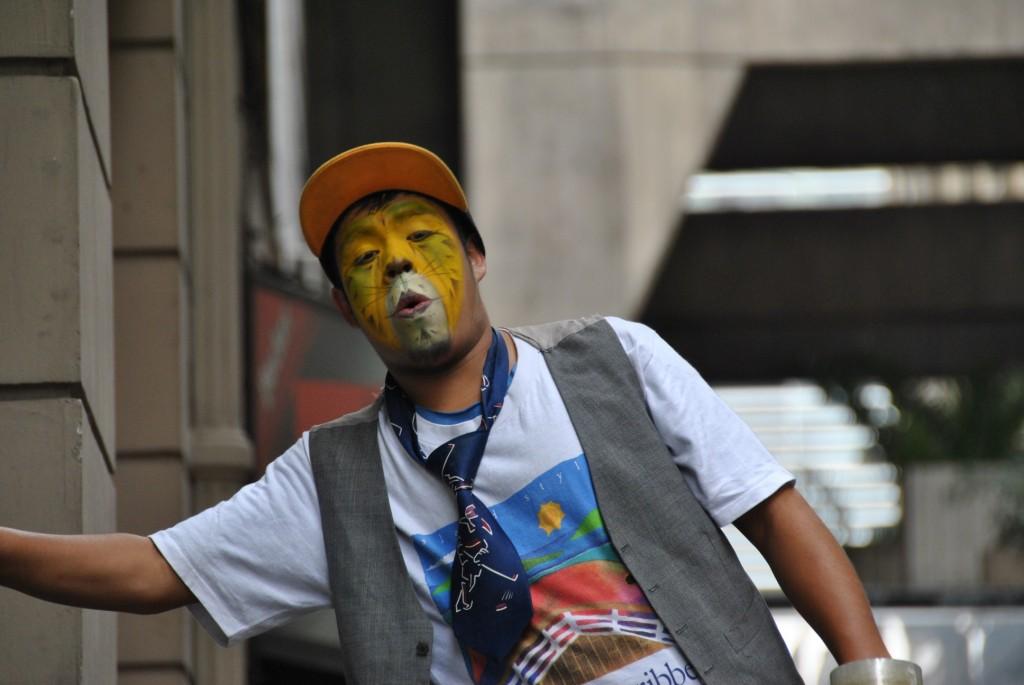 Tiger-face in Santiago [Chile 2012-11-30]
