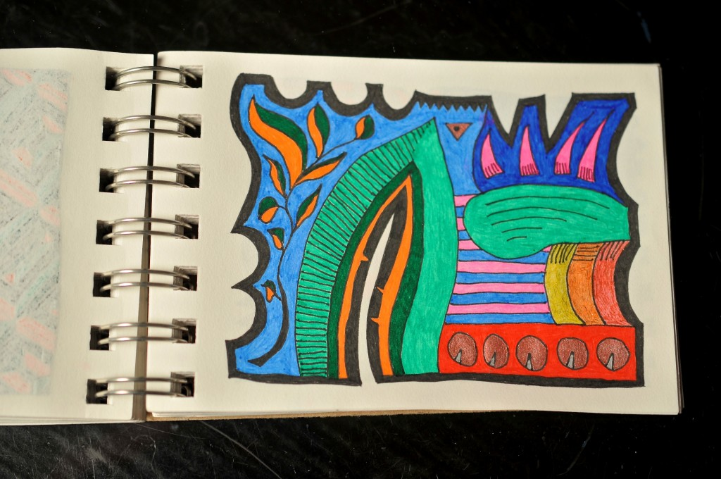Sketchbook doodle 65 of 95