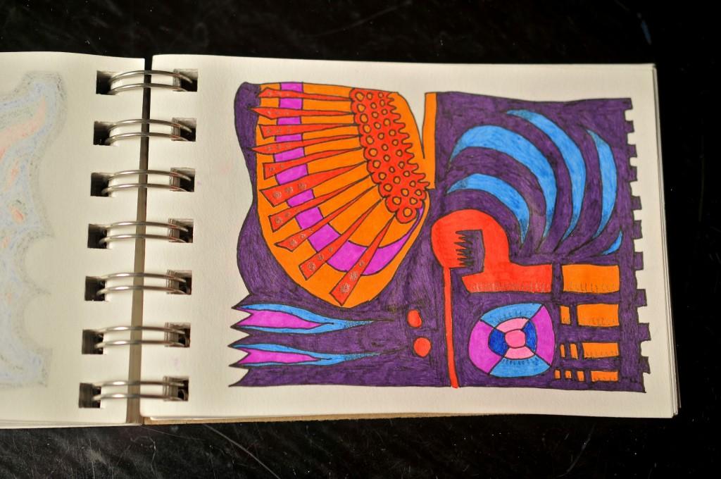 Sketchbook doodle 66 of 95