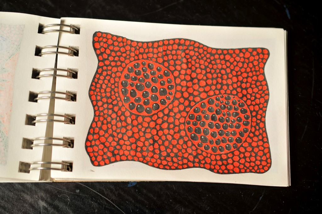 Sketchbook doodle 70 of 95