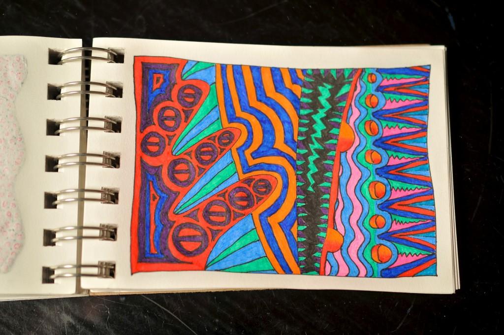 Sketchbook doodle 71 of 95