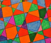 Close-up of sketchbook doodle 67 of 95