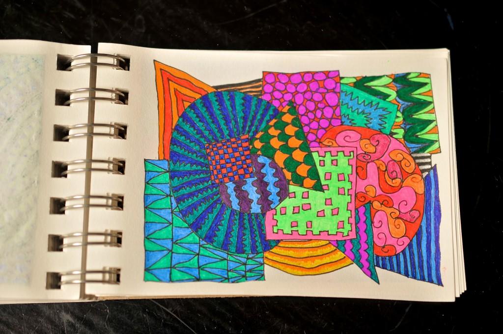 Sketchbook doodle 87 of 95