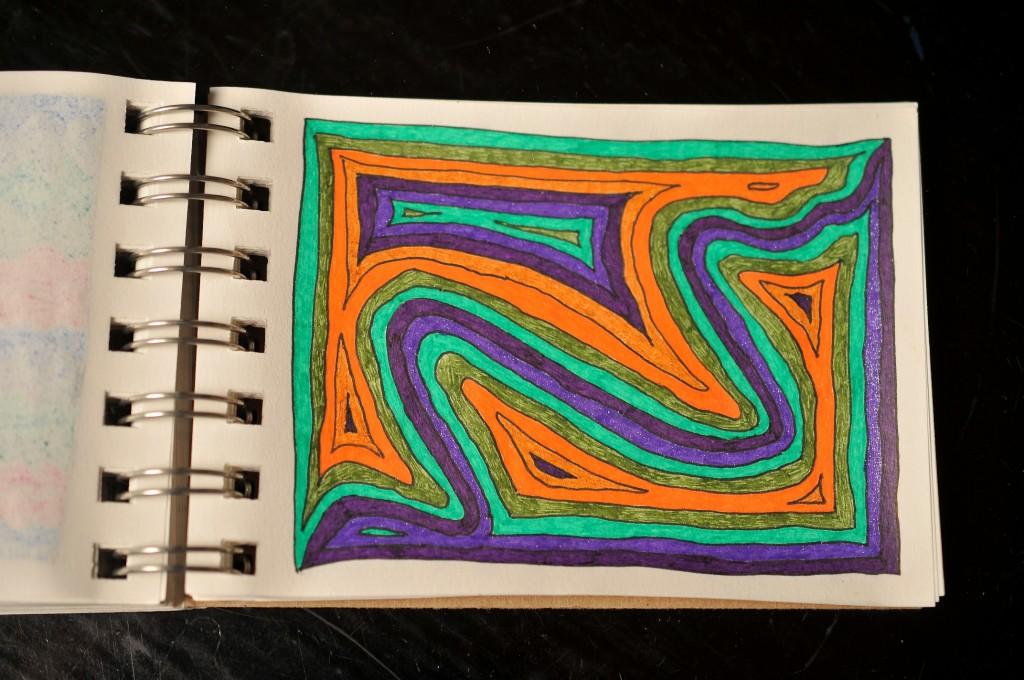 Sketchbook doodle 89 of 95