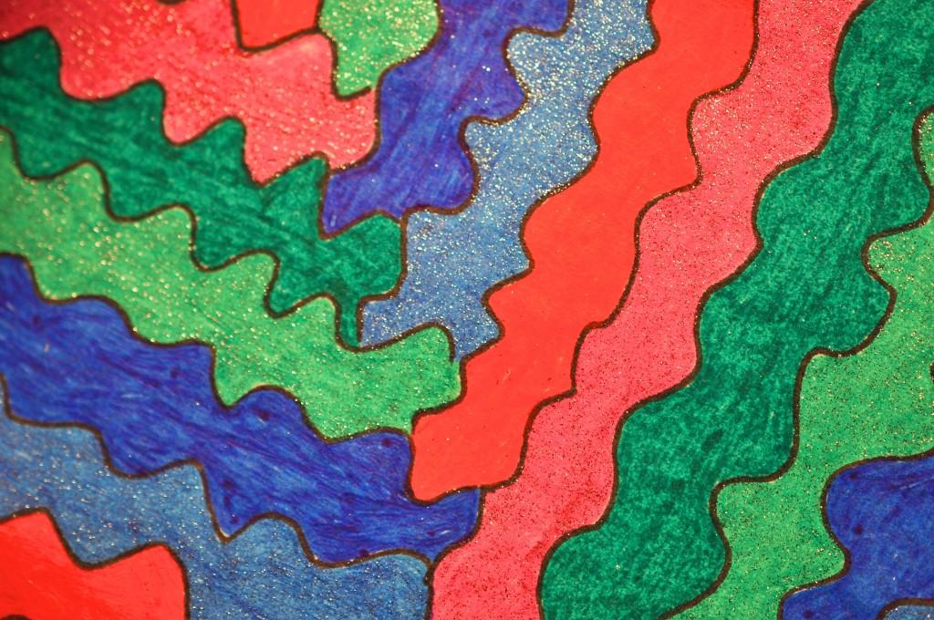 Close-up of sketchbook doodle 88 of 95