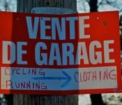 Vente de garage, Dorval.