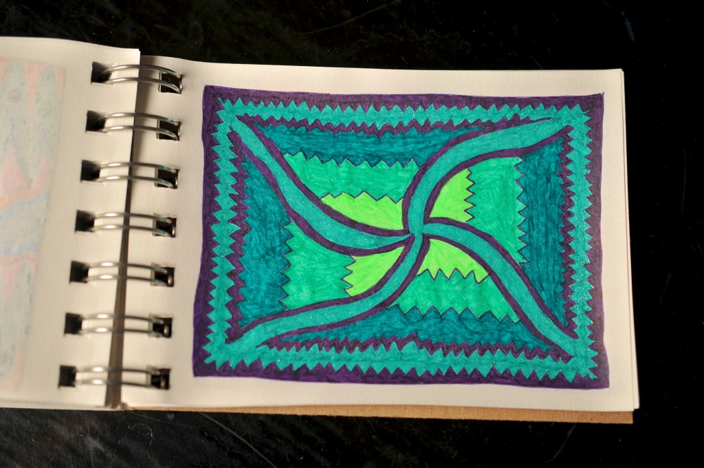 Sketchbook doodle 92 of 95