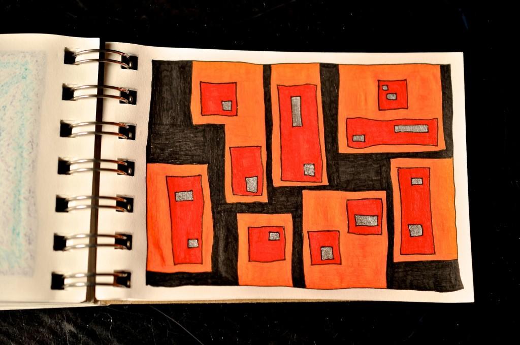 Sketchbook doodle 93 of 95
