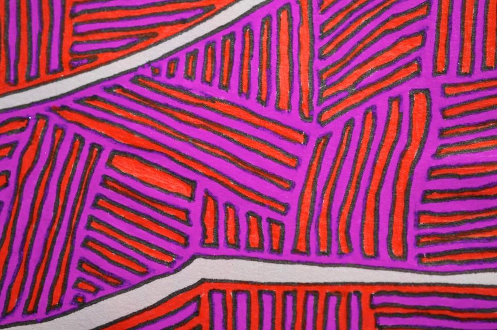 Close-up of sketchbook doodle 94 of 95