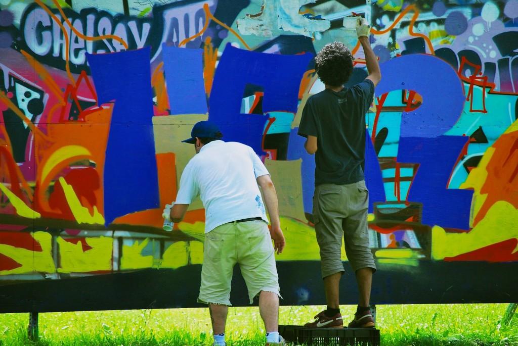 Street art in Dorval