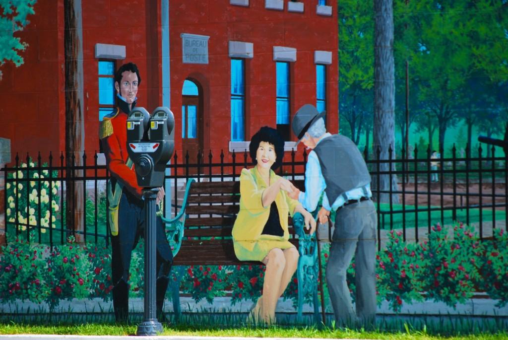 DSC_8761 - Train station mural in Drummondville, QC.