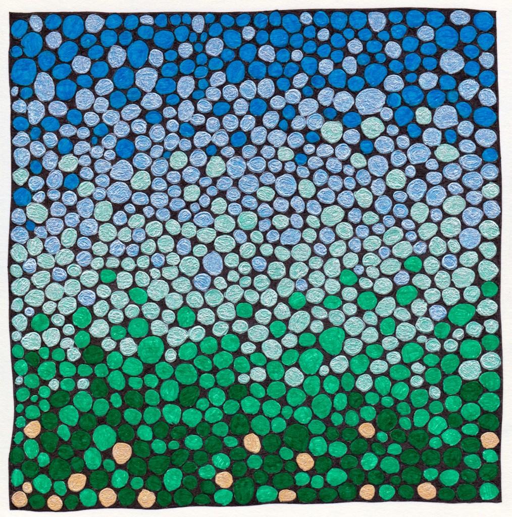 Square Doodle 025 - Version 2