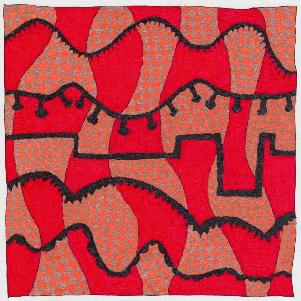 Square Doodle 037 - Version 2